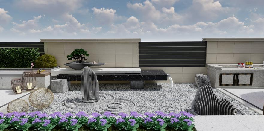 江与城屋顶花园设计