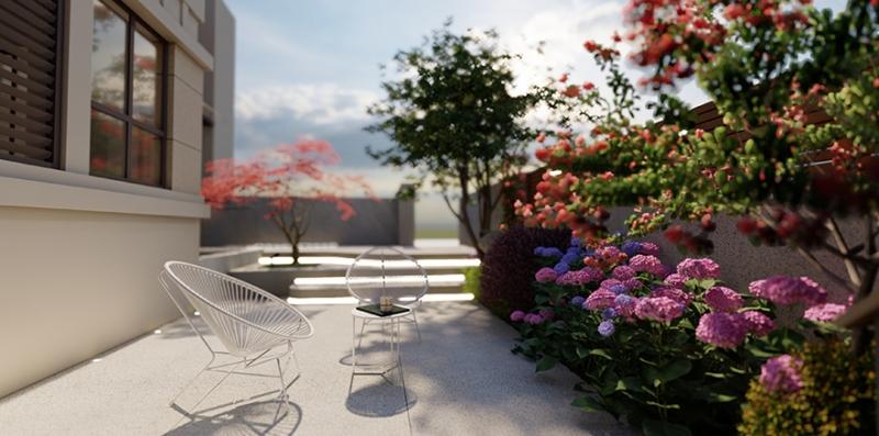 悦水岸私家花园设计