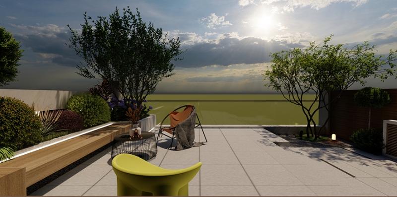 约克郡花园设计施工